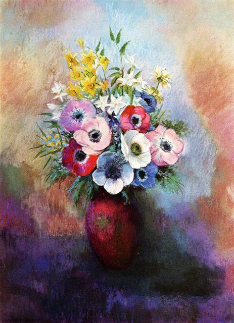 ,anemóna,szellőrózsa,virág,esküvői dekor,dekoráció,