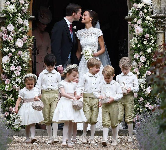 ,pippa middleton esküvői dekorációja,