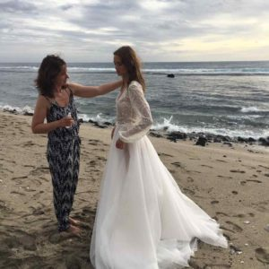,daalarna 2018,kampány,szikszai johanna,esküvői ruha,egzotikus esküvő,
