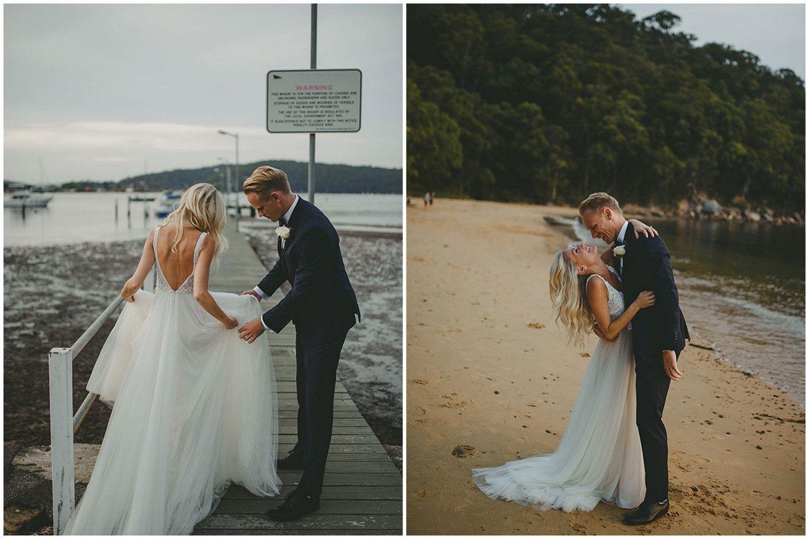 Tengerparti esküvő Ausztráliában, Daalarna ruhában