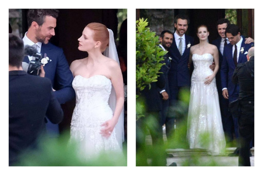 Jessica Chastain esküvője