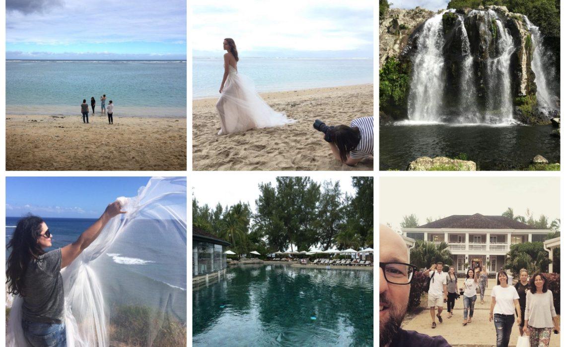 Kampányfotózás Réunion szigetén - a Daalarna csapatának élményei