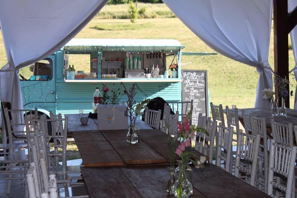 A Tütü Gasztró Busz - környezetbarát food truck catering az esküvődre