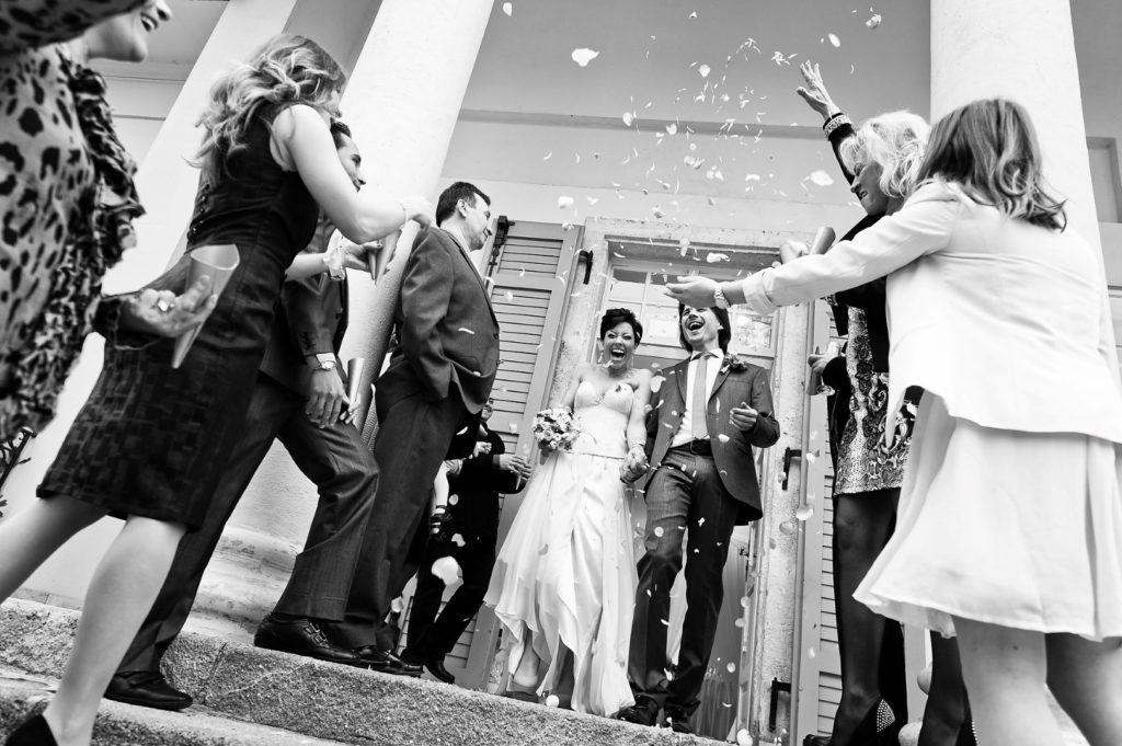 Vigh Csaba és Dósa Barbara esküvője a budapesti Barabás Villában