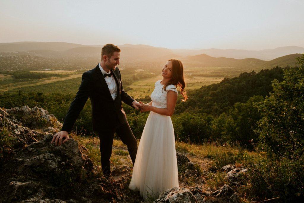 Esküvő a Hármashatár-hegyen - Bogi és Ádám nagy napja