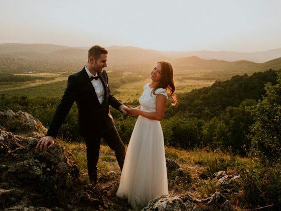 Esküvő a Hármashatár-hegyen