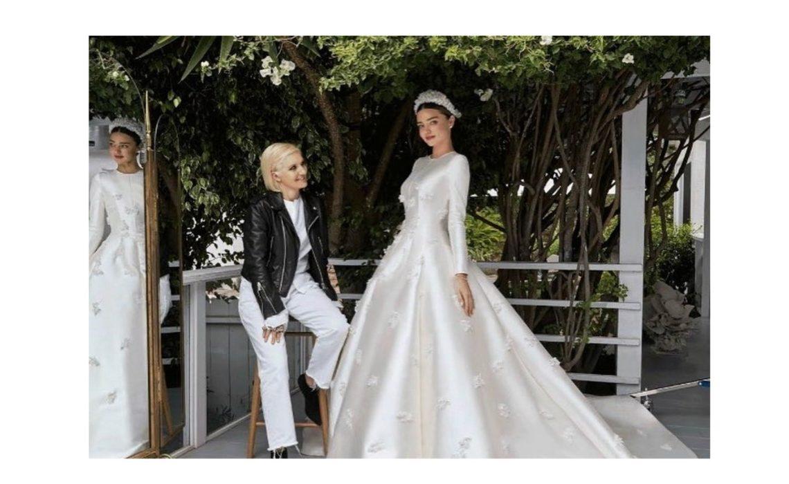 ,Miranda Kerr esküvői ruhája,Miranda Kerr esküvője,Miranda Kerr Evan Spiegel,esküvő,sztáresküvő,Dior,Dior esküvői ruha,