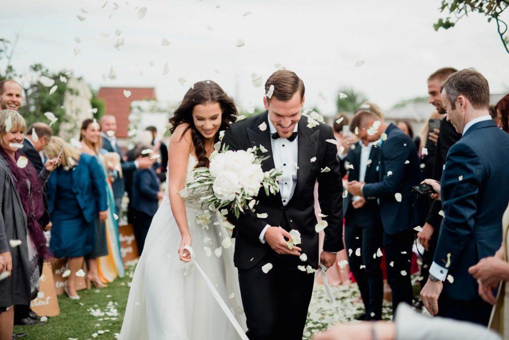 """Nagy Szofi és Megyeri Balázs esküvője - """"Apuka és anyuka után férj és feleség"""""""
