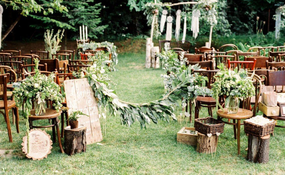 ,erdei esküvő,esküvő az erdőben,greenery,natural wedding decor,természetes dekor,green wedding,zöld esküvő,természet,