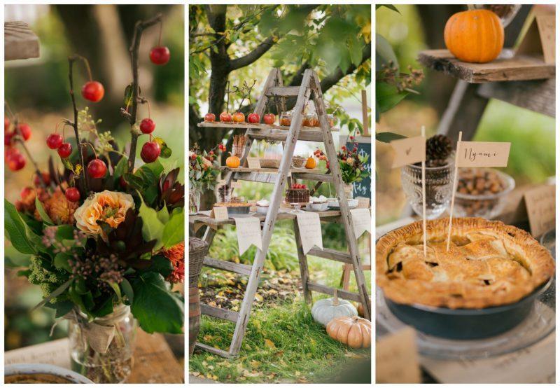 0e8edd5185 Esküvői dekor tippek Emesétől: Őszi desszertasztal