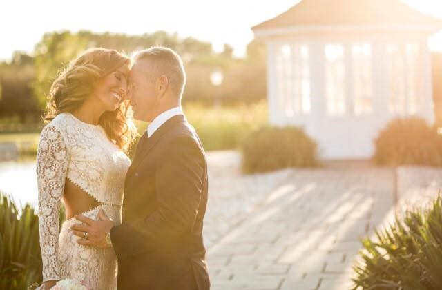 Rubint Réka esküvői ruhája