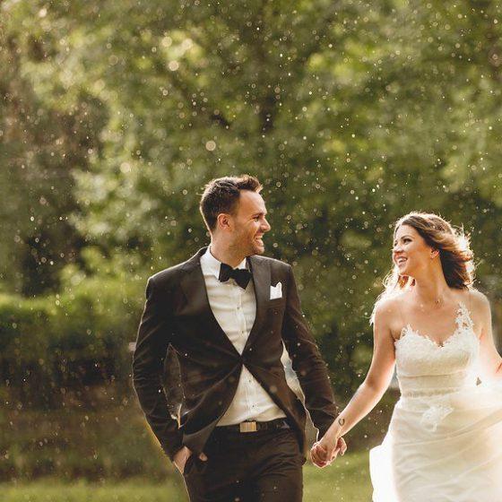 rossz idő az esküvőn