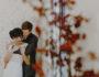 Amerikai pár, texasi esküvő, magyar menyasszonyi ruha