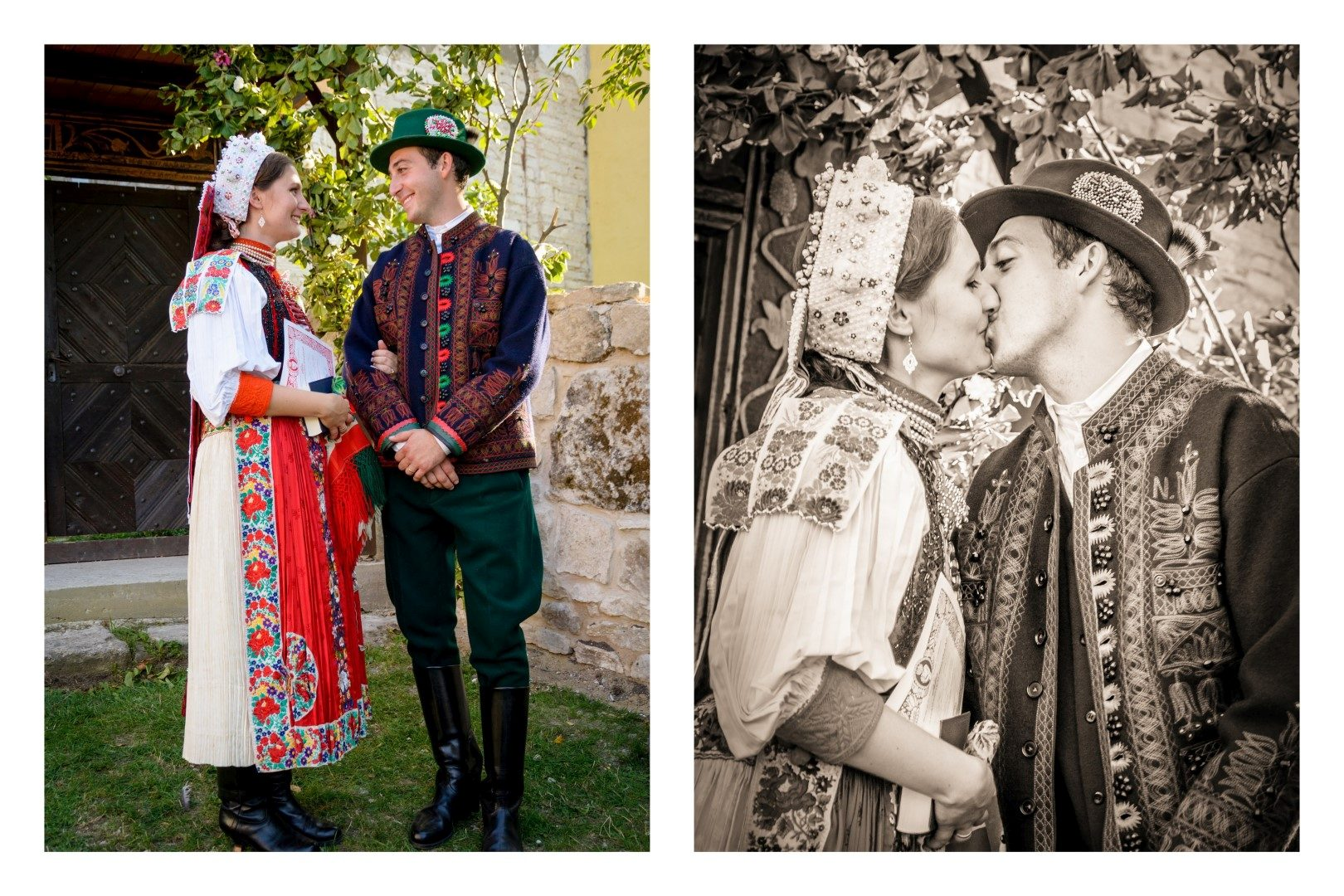 b75cd4f075 Kalotaszegi templomi esketés után az ifjú pár, 2015, Fotók: Molnár Ábel