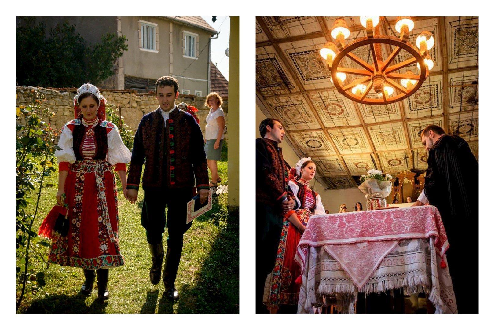 69de0b7519 Az erdélyi Kalotaszegen gyöngyökkel díszített színes ruhát viseltek a  menyasszonyok, ezek akár több, mint 10 kilót is nyomhattak! Ma is van olyan  lakodalom, ...