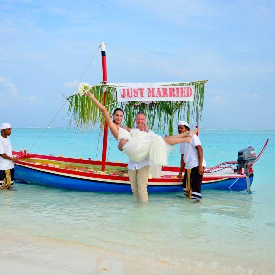 Egzotikus esküvő a Maldív-szigeteken