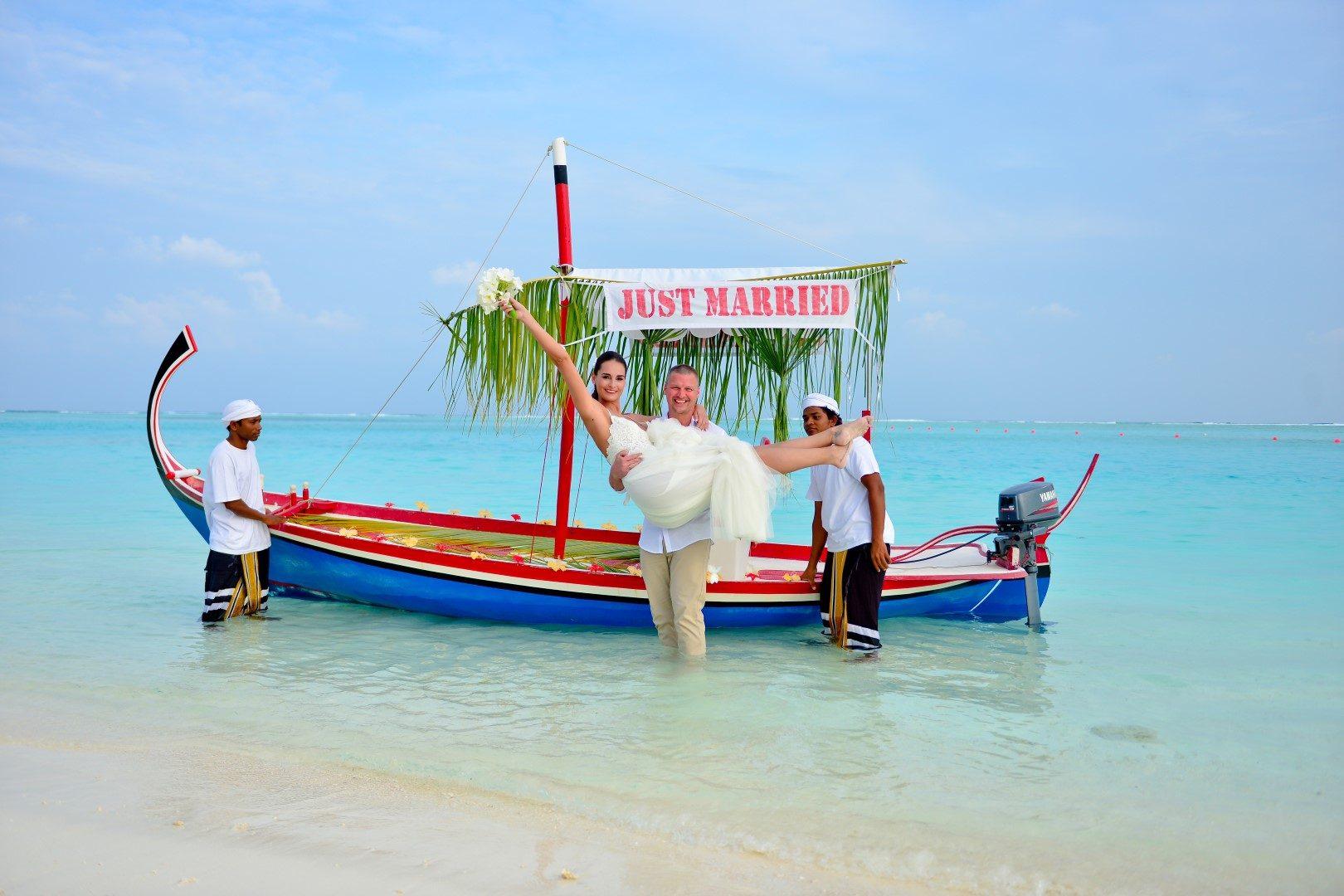 Egzotikus esküvő a Maldív-szigeteken - Ivett & Antonyo nagy napja