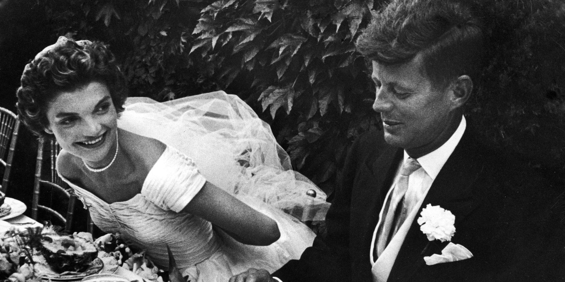 Minden idők legszebb esküvői ruhái – Jackie Kennedy