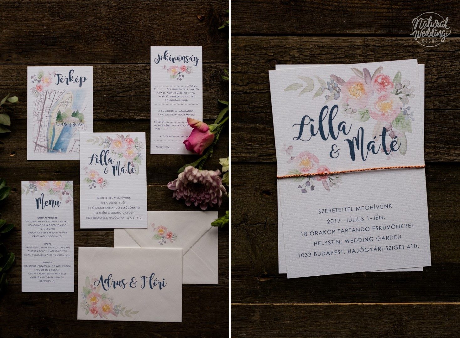 5e53d8944e Milyen legyen az esküvői meghívó? - Tippek, trendek, ötletek ...