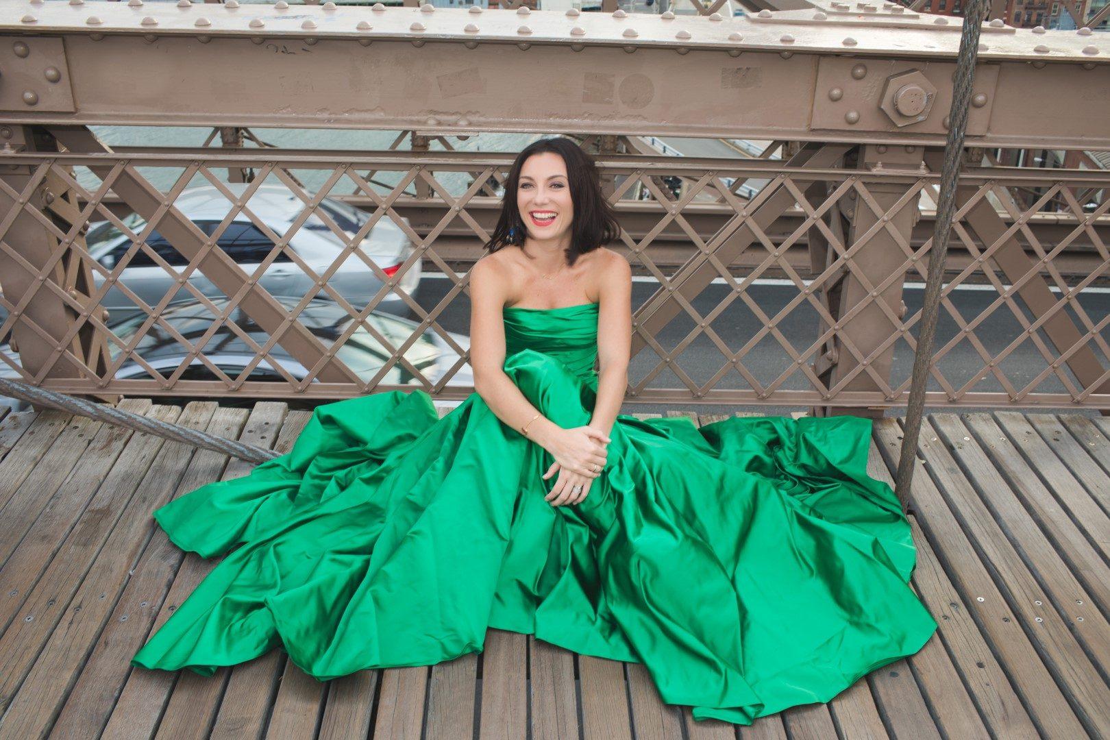 Rúzsa Magdi esküvő 2017-ben, Daalarna ruhában, Fotó: Jaksa Tímea