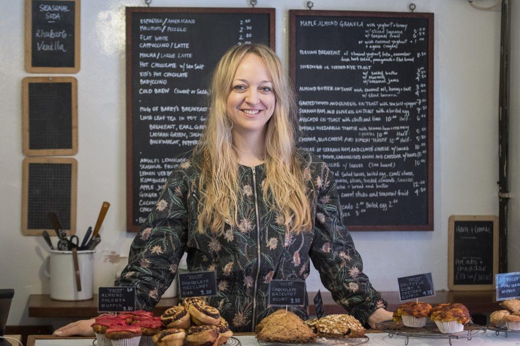 A londoni Violet Bakery cukrásza, Claire Ptak