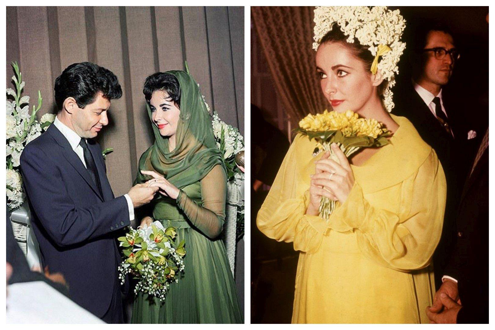 Hírességek, akik a színes menyasszonyi ruha mellett döntöttek