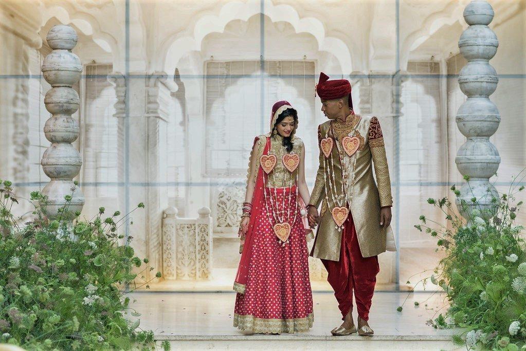 Különleges indiai esküvő Budapesten