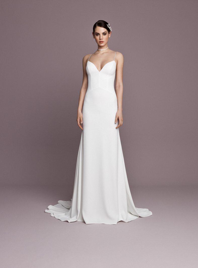 Letisztult esküvői ruhák Meghan Markle stílusában  db492d3d1a