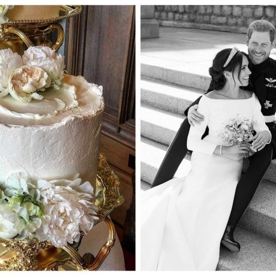 Meghan és Harry esküvői tortája