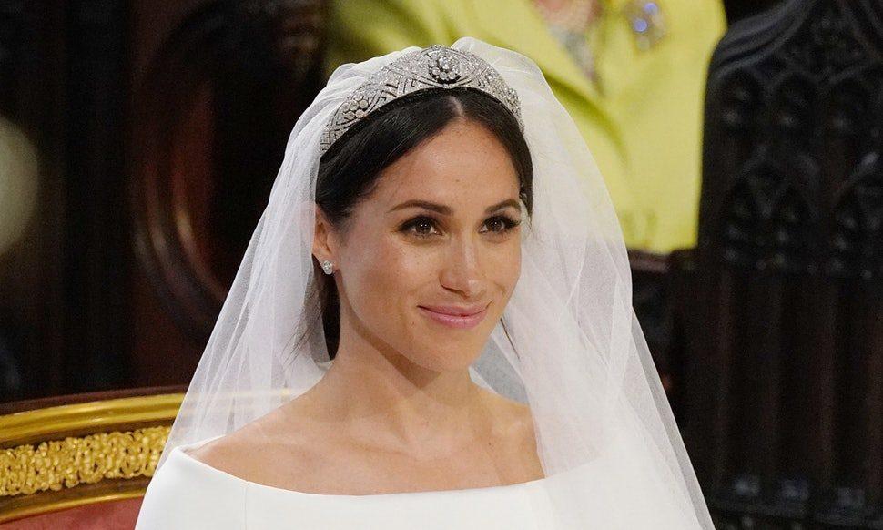 Meghan Markle smink nélkül a királyi esküvőn