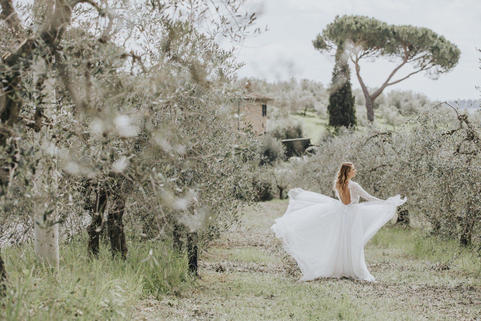 toszkán esküvői stílus