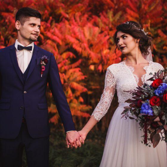 Valódi esküvők - Ildikó és Ignác őszi tündérmeséje