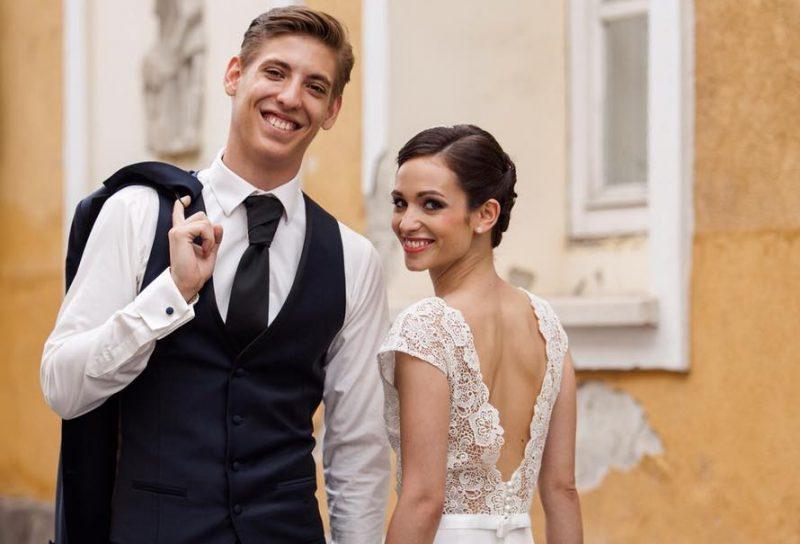 Felméry Lili és Balázsi Gergő esküvője