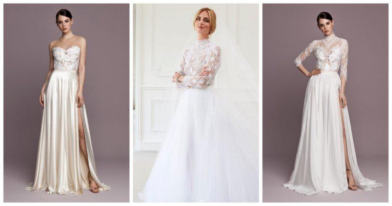 Body & szoknya - Kétrészes menyasszonyi ruhák Chiara Ferragni stílusában