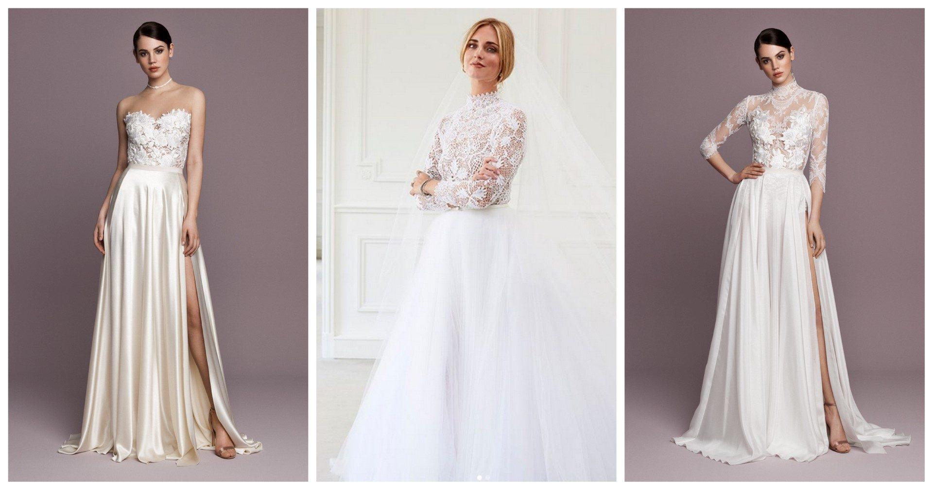 4f0dd34aca Body & szoknya Kétrészes menyasszonyi ruhák Chiara stílusában