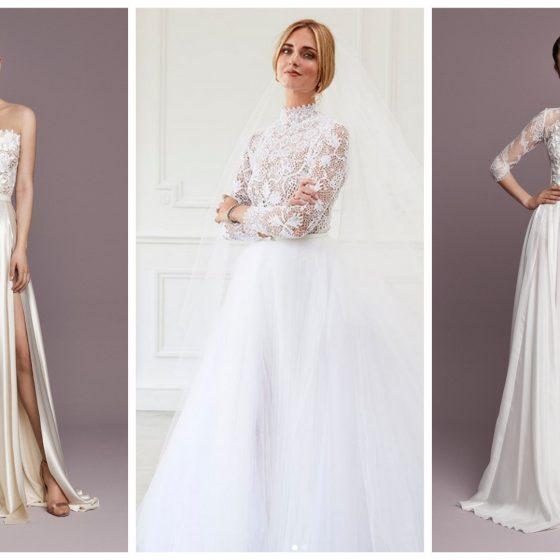 kétrészes menyasszonyi ruhák a Daalarna kollekcióiban