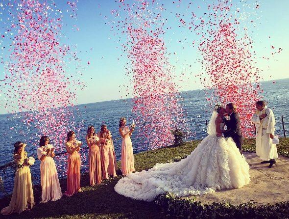 ,giovanna battaglia,esküvő,sztáresküvő,