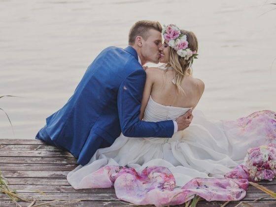 virágos menyasszonyi ruha