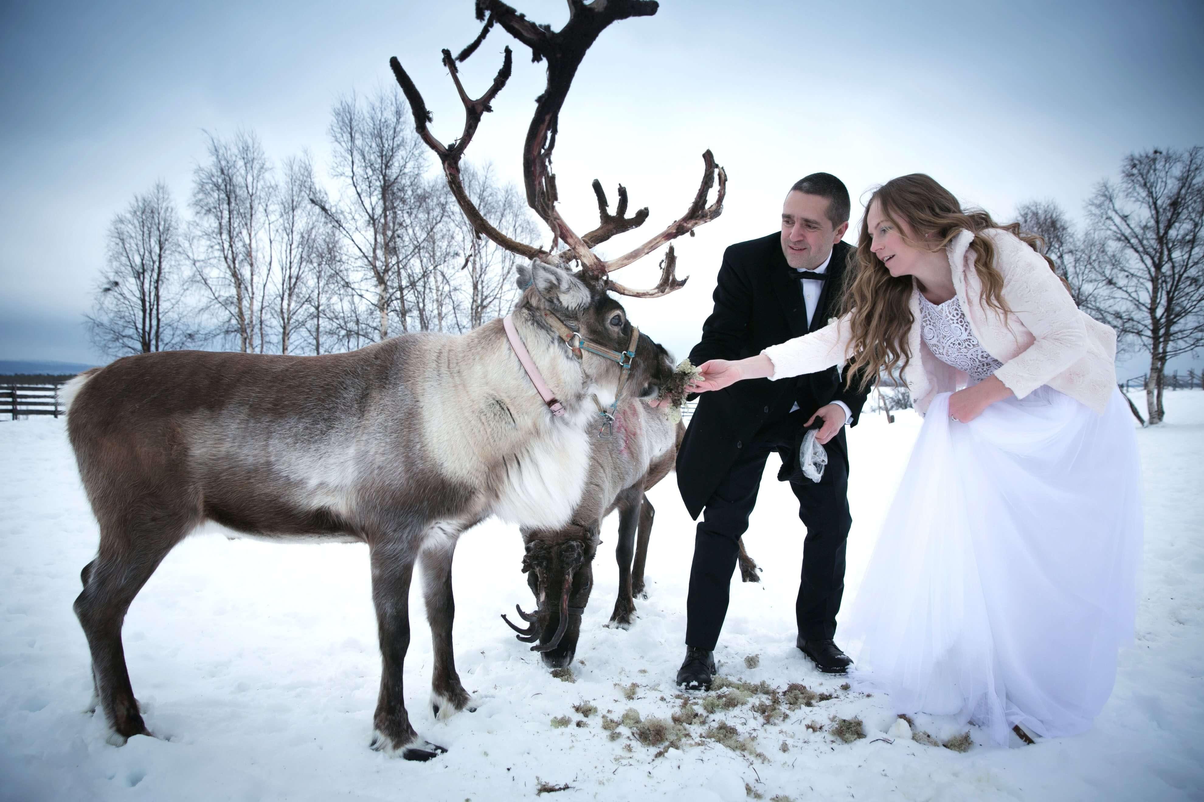 ,téli esküvő,