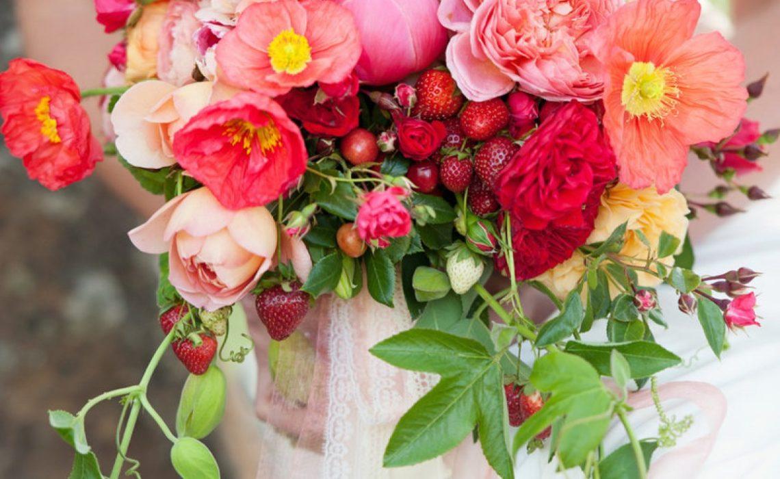 esküvői virágcsokor