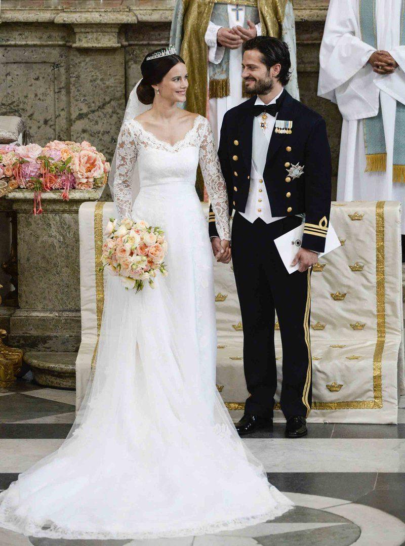 526ebf353d 3. legszebb királyi esküvői ruha: Sofia svéd hercegné
