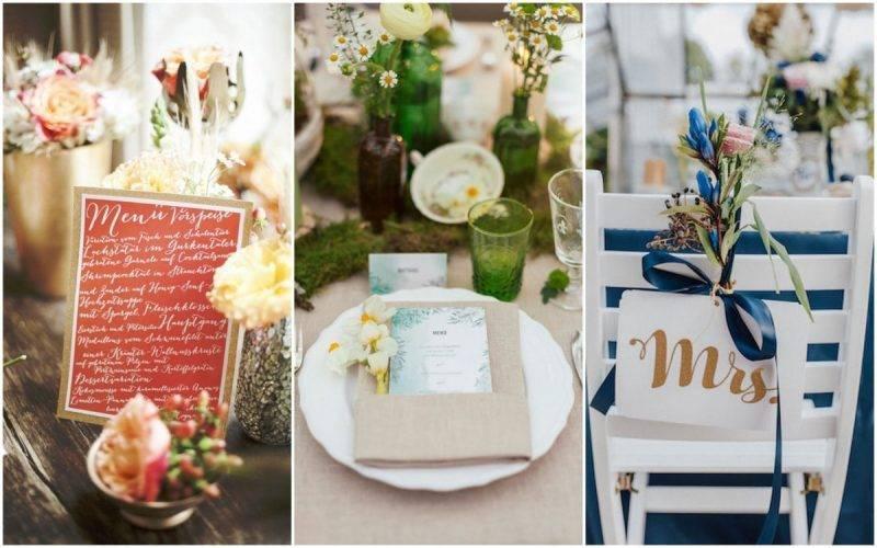 5 esküvői dekoráció