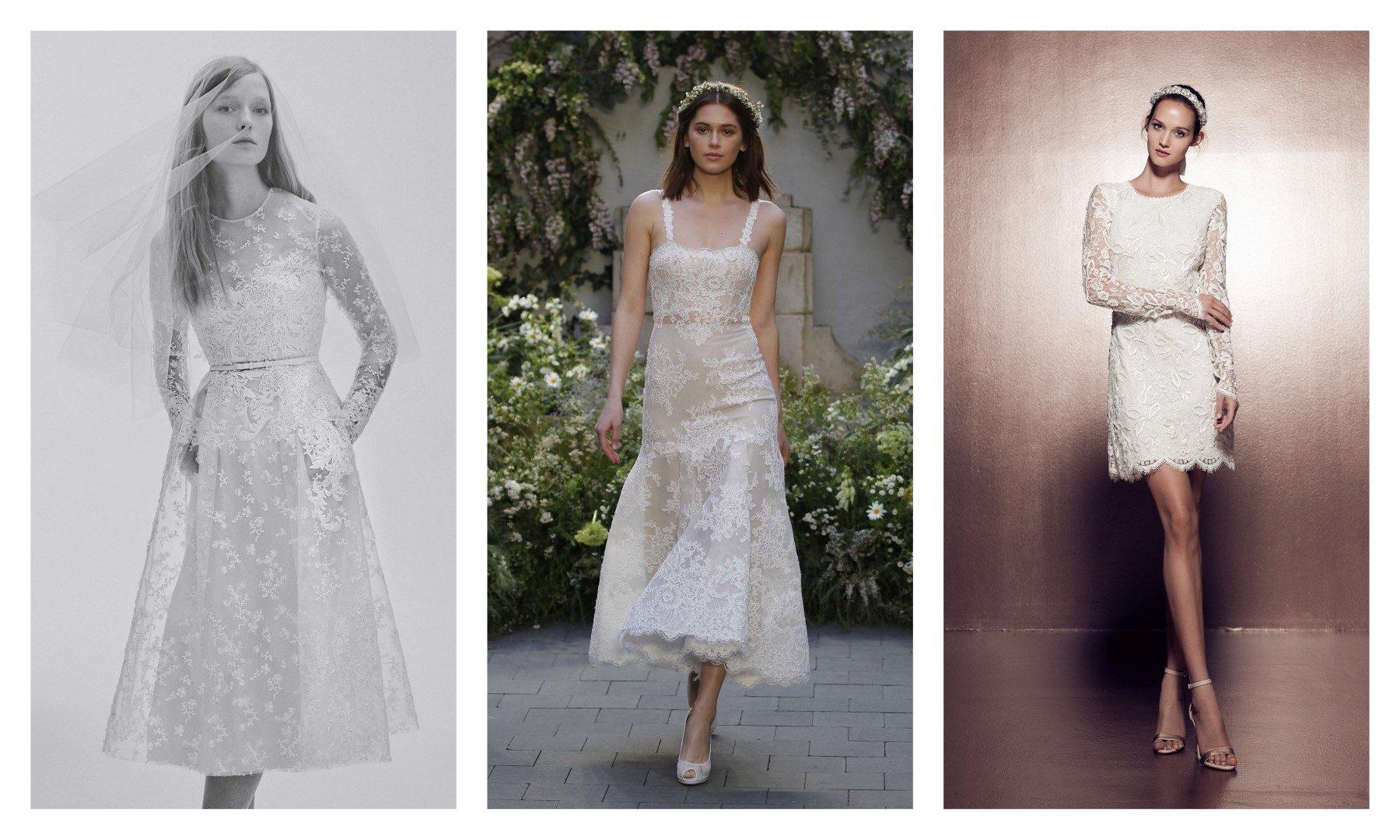 Ilyen lesz az esküvői ruha 2017-ben – A képeken látható esküvői ruhamárkák  listája balról jobbra haladva  Naeem Khan 855638a6f5